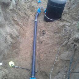 przyłącze studni głębinowej